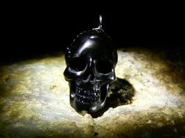 Voodoo Baron Samedi Grand Magician Elite Mason Spirit Skull Relic Izida Haunted - $367.00