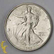 1945-S Walking Liberty Half Dollar 50c (Choice BU) Excellent Eye Appeal! - $64.35