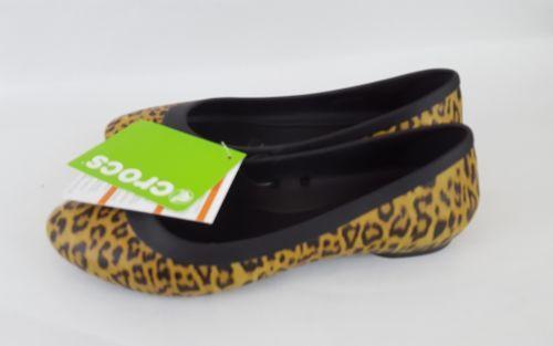 Crocs Iconic Comfort Lina flat cheetah womens 7