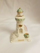 Lenox 2002 Limited Edition Seaside Lighthouse Ornament - March - $9.85