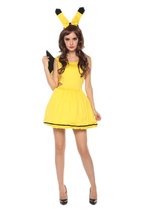 Yellow pikachu Halloween costume - $30.00