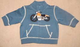 Gymboree Summer Wheels Motorcycle Jacket Size 3-6 3 6 Months - $15.79