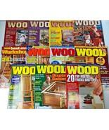 11 Better Homes Gardens WOOD Magazine Lot Bookcase Box Bench Clock 1990 ... - $16.82