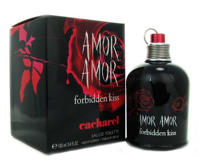 Primary image for Amor Amor Forbidden Kiss by Cacharel 3.4oz / 100 ml EDT Spray - New in Box