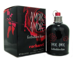 Amor Amor Forbidden Kiss by Cacharel 3.4oz / 100 ml EDT Spray - New in Box - $59.90