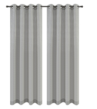 Urbanest Cosmo Set of 2 Sheer Curtain Panels w/ Grommets image 12