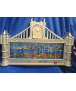Charming of Choice Fish Tank and Clock - Castle Shaped - $53.45