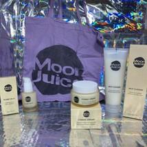 NEW IN BOX Moon Juice VEGAN Plump Jelly SERUM + Milk Cleanse & Cosmic Cream TOTE