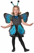 Seasons Beautiful Butterfly Pretend Play Costume, Blue