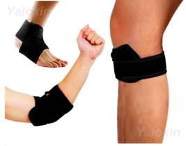 Elbow Brace Strap, Runner's Knee Strap, Ankle Strap for Recovery, Injury (ST5) - $17.24