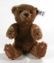 "Vintage 1983 Steiff Margaret Strong Brown Mohair 7"" ( 18cm) Teddy Bear ... - $88.54"