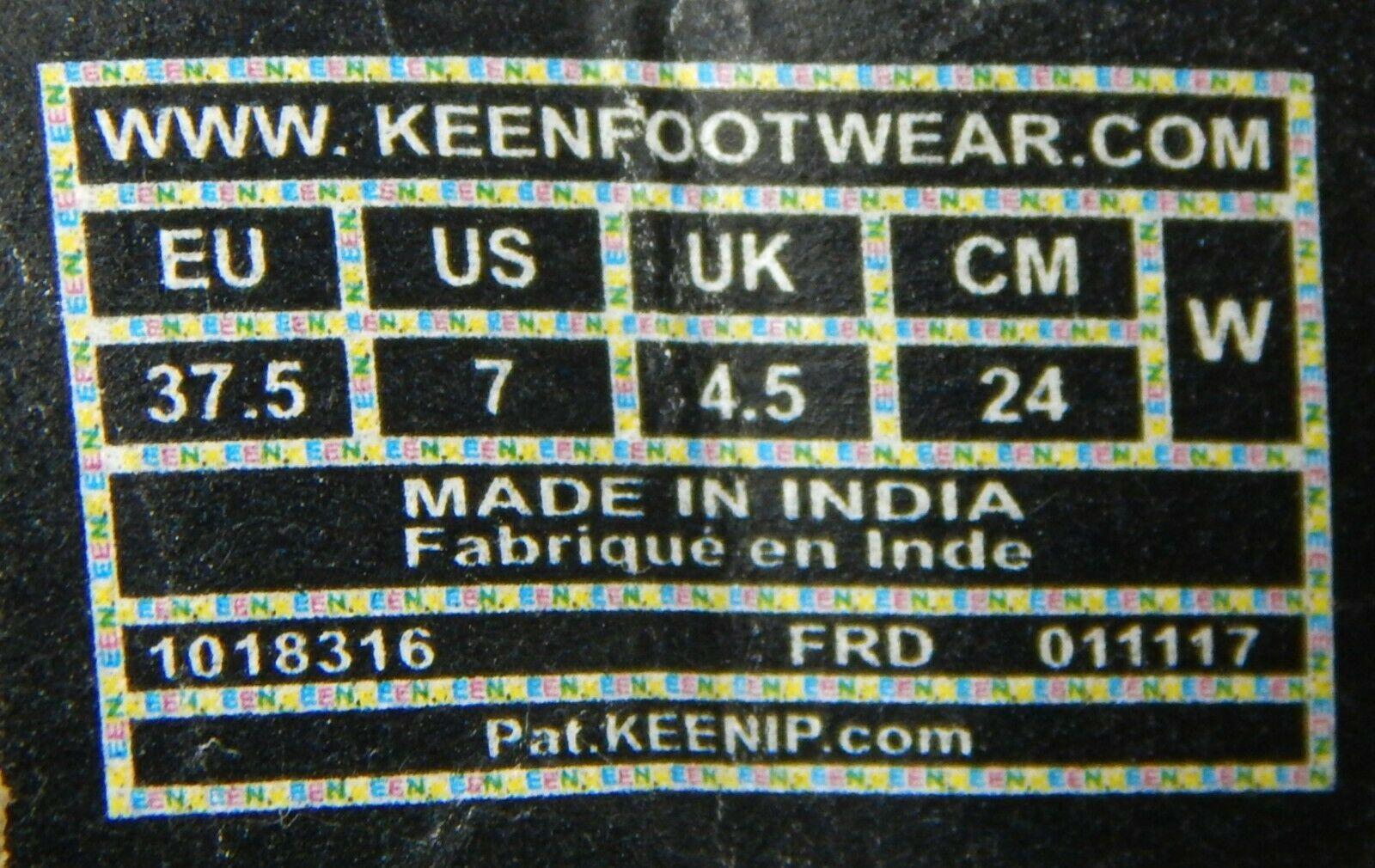 Keen Presidio II Misura 7 M (B) Eu 37.5 Donna Casual Oxford Shoes Paloma 1018316 image 10