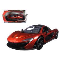 McLaren P1 Orange 1/24 Diecast Model Car by Motormax 79325or - $29.91