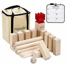ROPODA Kubb Game Premium Set - Game Set for Yard/Outdoor/Lawn/Beach - Pi... - $41.68