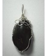 .925 SS Wire Wrapped Nephrite Jade Pendant by Jemel - $45.00