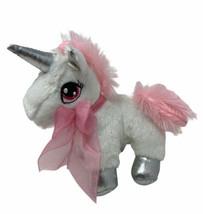 Dan Dee Collectors Choice Plush Unicorn Pink & White Stuffed Animal Sewn... - $9.99