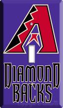 ARIZONA DIAMONDBACKS MLB  BASEBALL LIGHT SWITCH PLATE P image 3