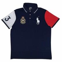 Polo Ralph Lauren Men's Big Pony Performance Short Sleeve Specialty Polo Shirt B - $84.95