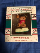 1988 New in Box - Enesco Christmas Ornament - Happy Howladays - #558605 - $5.78