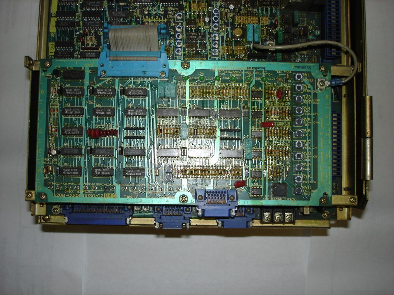 Fanuc Spindle Amp AC SP-3, A06B-6044-H007 image 2
