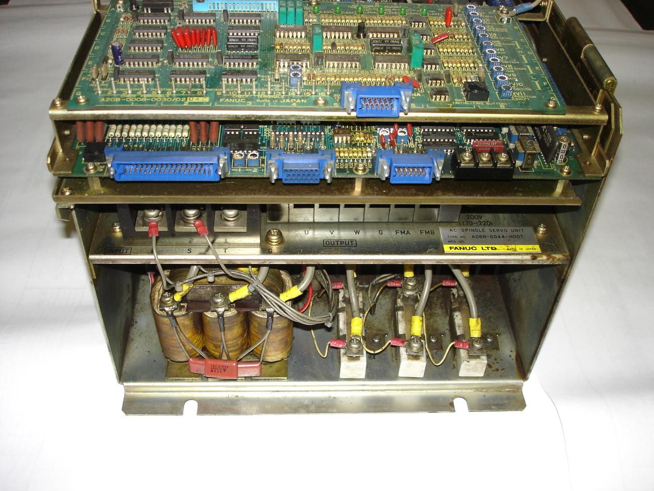 Fanuc Spindle Amp AC SP-3, A06B-6044-H007 image 3