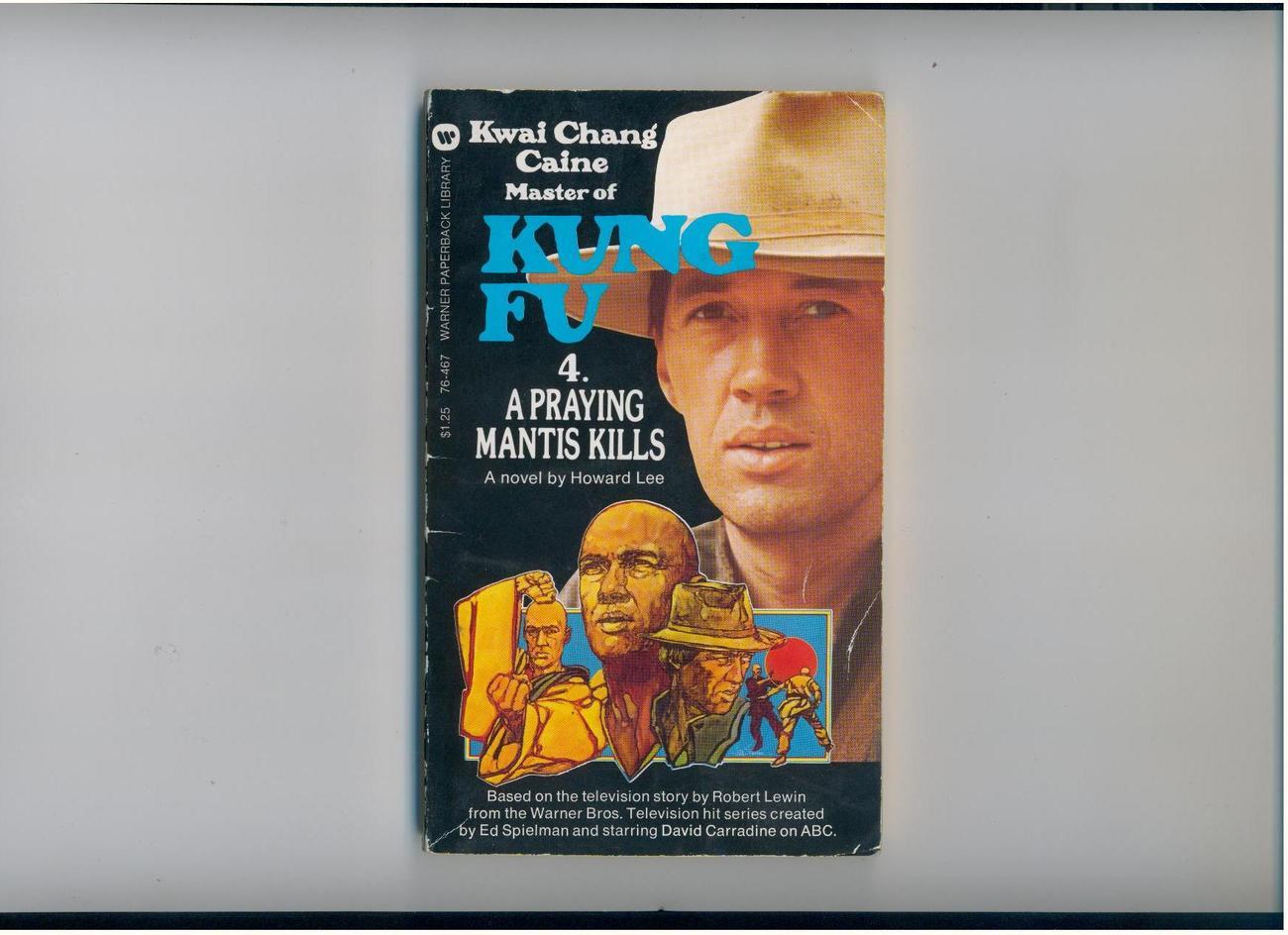 Lee--KUNG FU 4: A PRAYING MANTIS KILLS--1974--tv tie-in