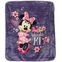 Disneys Minnie Mouse Plush Throw Blanket, Adorable Me, Twin Size 60x80 i... - €30,75 EUR