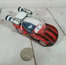 "Lightning McQueen Astronaut Space Car Disney Pixar Cars 4"" Diecast, Brok... - $9.26"