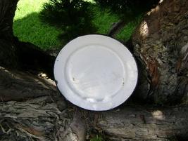 Shabby Chic Enamel Ware Plate - $10.00