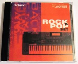 Roland JW-50 Workstation Rock & Pop Set Original Backing Style Disk & Je... - $49.49
