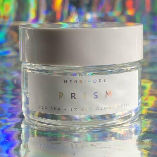 NEW RELEASE HERBIVORE PRISM GLOW MASK 20% AHA 5% BHA 15mL