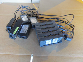 Lot of 5 Genuine Cisco Aironet Power Injector AIR-PWRINJ3 with power adapter - $121.19