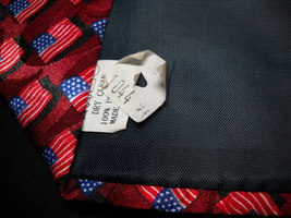 Steven Harris Neck Tie American Flags Hand Made image 6