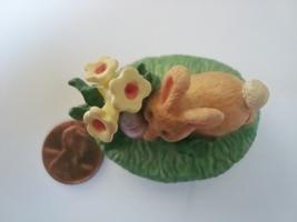 Hallmark Merry Miniatures Easter Egg Hunt Bunny Figurine image 6