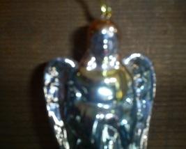 Irridescent Glazed  Angel Ornament image 2