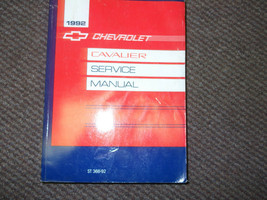 1992 GM Chevrolet Cavalier Servizio Negozio Riparazione Officina Manuale... - $14.73