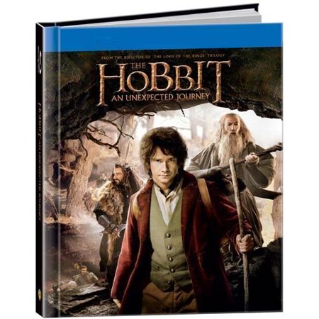 The Hobbit [Blu-ray + DVD] Walmart exclusive 64 page Digibook