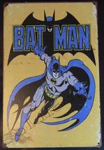 "The Batman Comics Wall Metal Sign plate Home decor 11.75"" x 7.8"""
