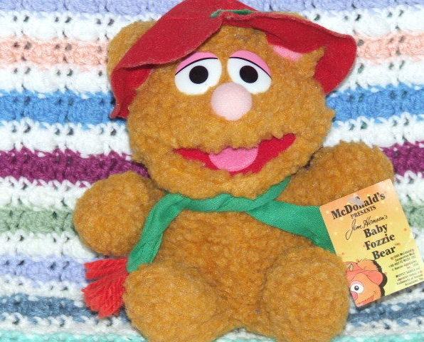 Baby Fozzie Bear McDonald Collectible Christmas Bonanza