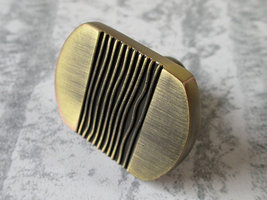 Dresser Knob Drawer Knobs Pulls Handles Cabinet Door Knobs Pull Bronze Stripes image 1
