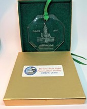 DeTour Reef Light House 2008 Limited Edition Ornament with box - $9.89