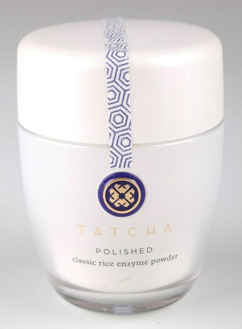 TATCHA POLISHED DEEP RICE ENZYME POWDER 60g 2.1 oz FOR OILY SKIN NEW IN BOX