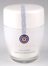 TATCHA POLISHED DEEP RICE ENZYME POWDER 60g 2.1 oz FOR OILY SKIN NEW IN BOX image 1