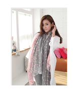 Scarves for Women Fashion Autumn and Winter Long Silk Scarf Dot scarf lo... - $9.99