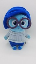 Pixar Inside Out Talking Sadness Sad Depressed Blue Stuffed Plush Toy Do... - $17.77