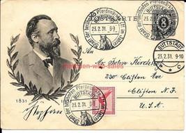Postcard~Germany~02/1931~Buttstädt~Horse Market Postmark~Heinrich Von St... - $8.60