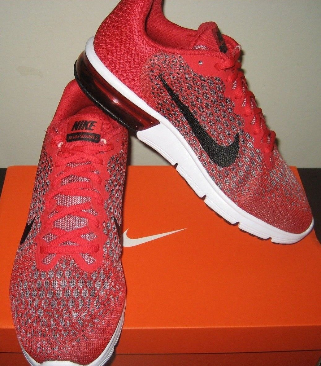 cf1745b34b7 Nike Mens Air Max Sequent 2 Running Shoes and 14 similar items. 57