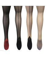Sock Snob - Ladies Retro Back Seam Designer sexy 40's Tights Sizes 8-24 uk, - $153,85 MXN