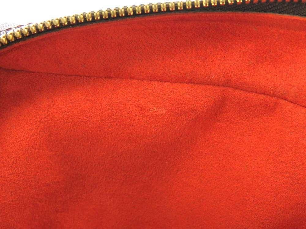 LOUIS VUITTON Brera Damier Canvas Ebene Handbag N51150 France Authentic image 7
