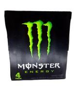 Monster Energy Drink, Original Green, 16 fl oz Cans (4 Pack) - $29.79